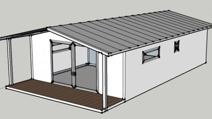 Easy Cabin 40 från Easy-House