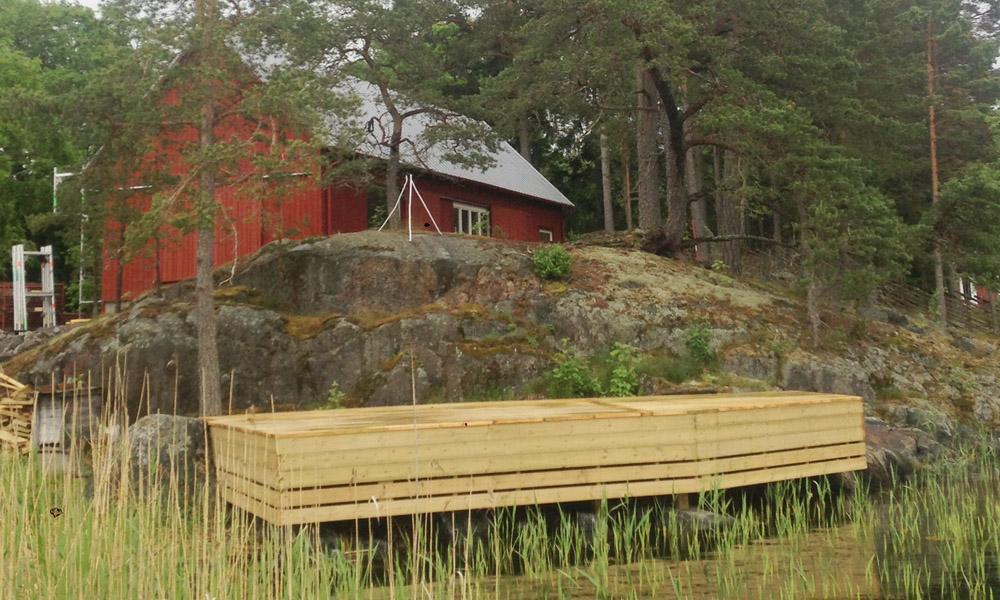 Slåtteråsen 86 i Stockholms skärgård.