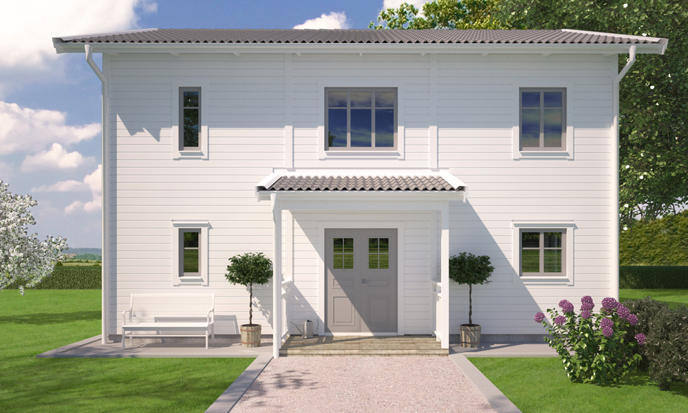 Villa Vendelsö från A-hus