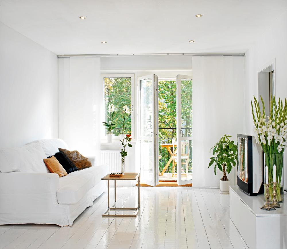 MÃ¥la dina gamla trägolv vita — HusExtra : måla trägolv vitt : Inredning