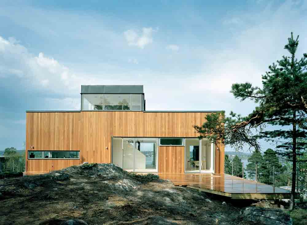 Arkitekthus modell nr AH#061