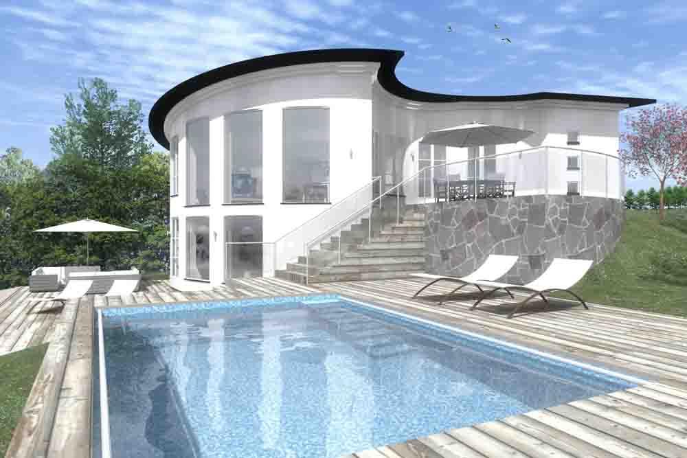 Villa Frihet Design Pål Ross
