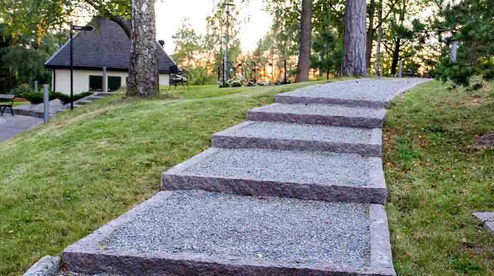 Kantsten i granit