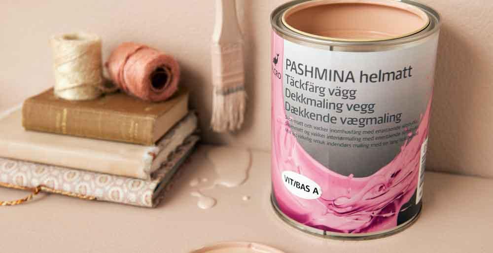 Kulören Pashmina Old Rose
